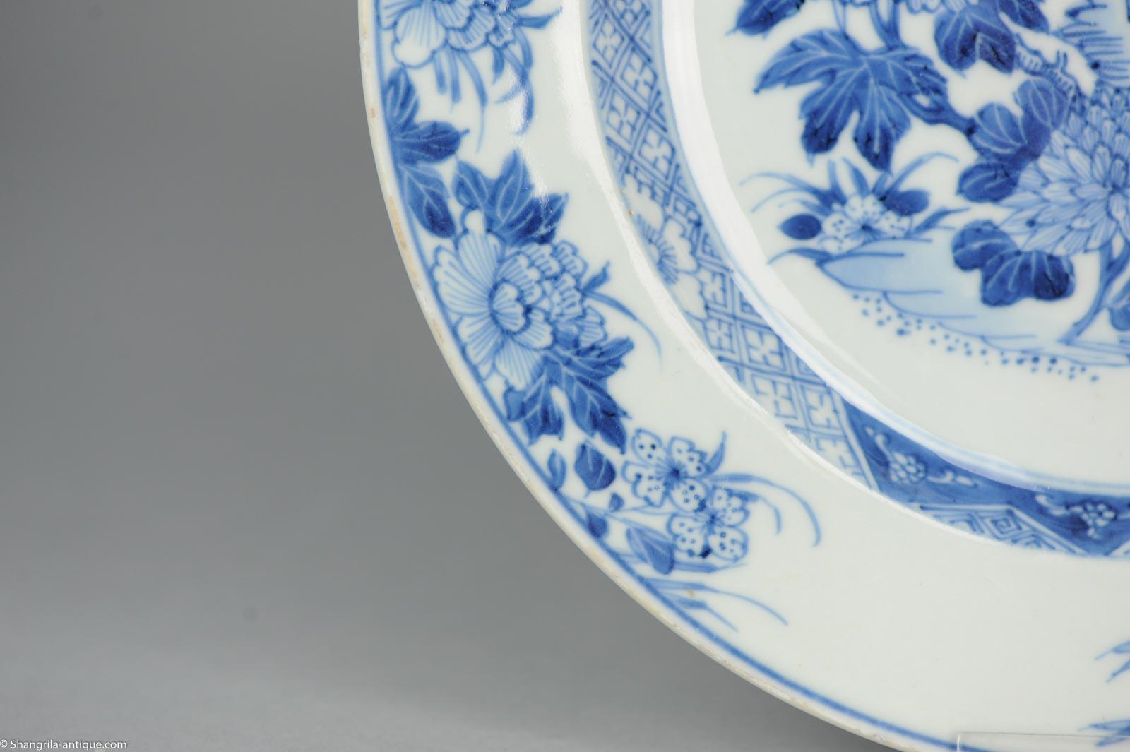 Antična antična azijska kitajska plošča - azijska-7485