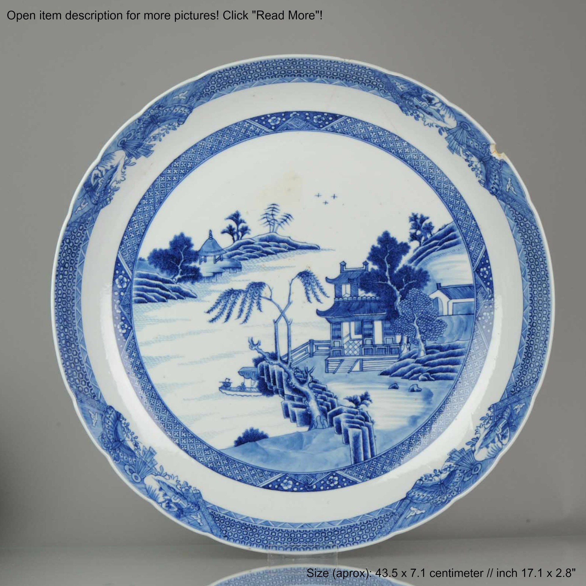 6.6CM 6th Century Chinese Porcelain Qianlong Period Blue and White Lan   eBay